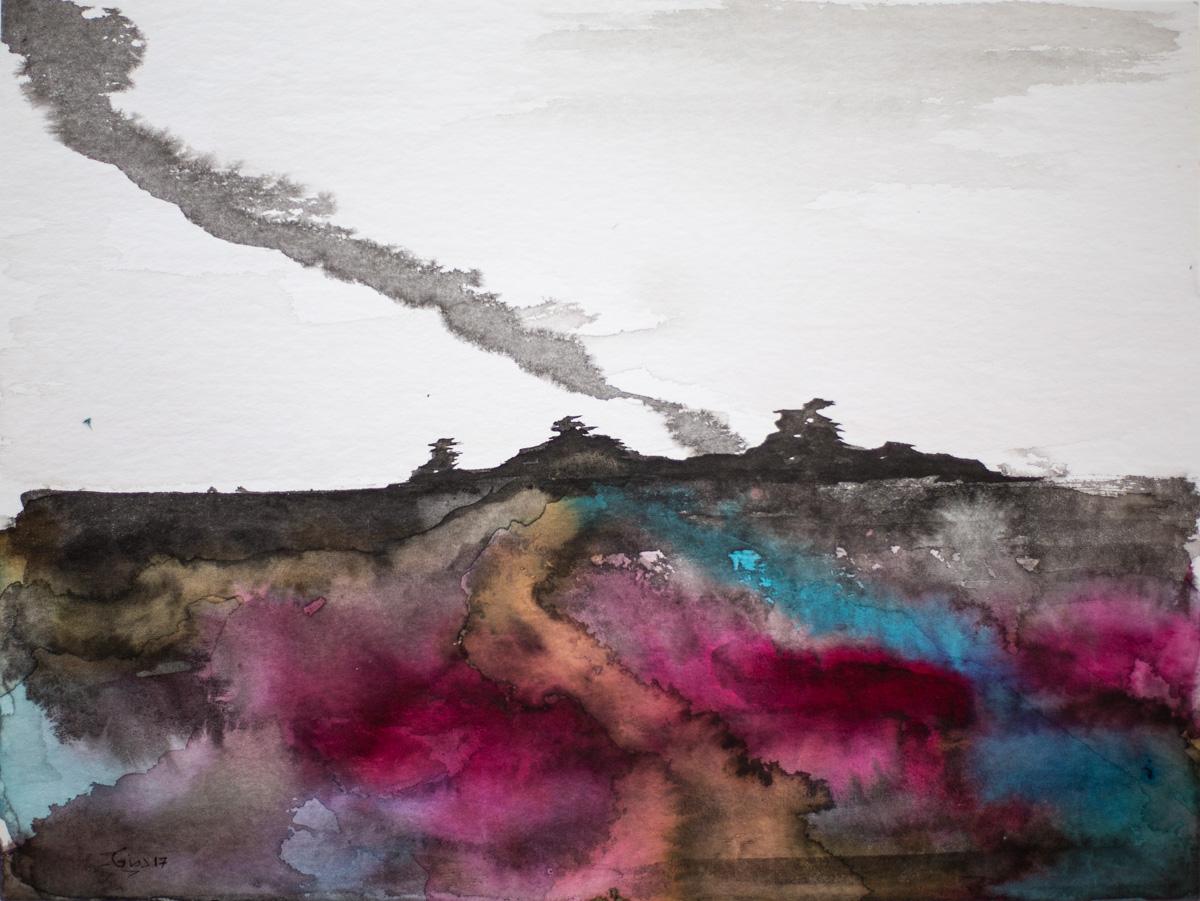 Volcan 1 - Encre