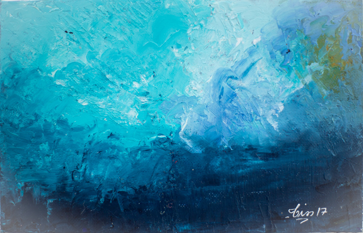 Abysses 1 - huile